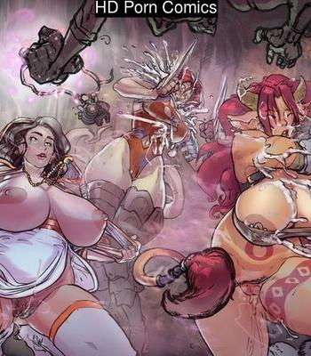 Porn Comics - Rescue Party Failed