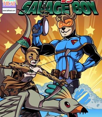 Porn Comics - Space Man vs Savage Boy Sex Comic