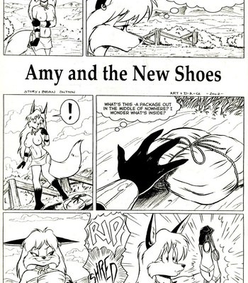 Porn Comics - Amy's Adventures – Amy And The New Shoes