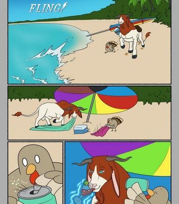 Porn Comics - Zeus' Beach Fling!