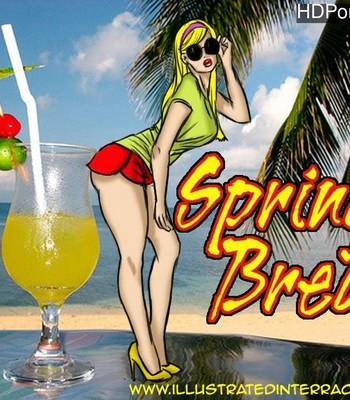 Porn Comics - Spring Break Sex Comic