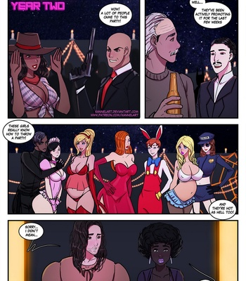 Porn Comics - Costume Party Extravaganza – Year Two