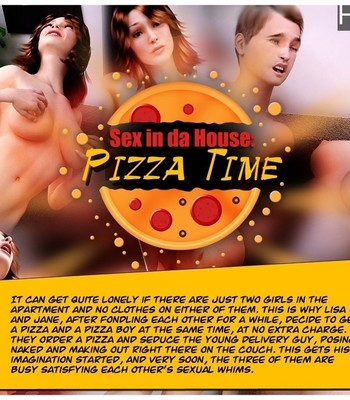 Porn Comics - Sex In Da House – Pizza Time