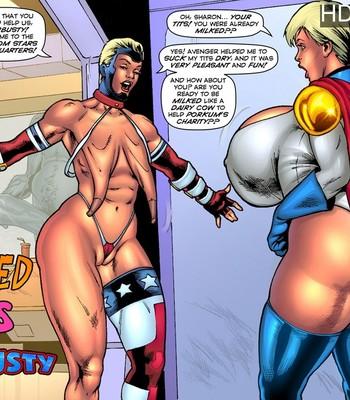 Porn Comics - Starbusty – Drained Tits
