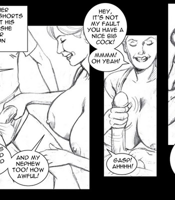 Summer With Aunt Jenny comic porn sex 006