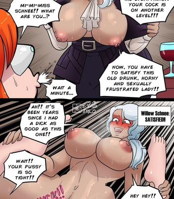 Nora vs The RWBY Girls comic porn sex 014