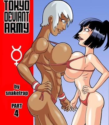 Porn Comics - Tokyo Deviant Army 4 Sex Comic