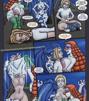 The Clowning Touch comic porn sex 008