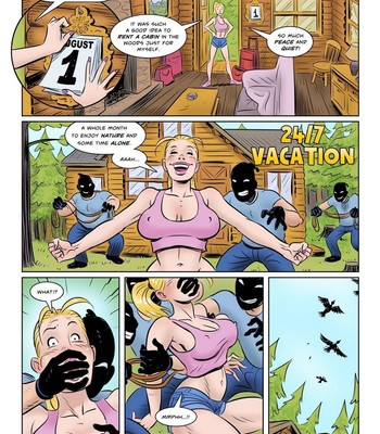 Porn Comics - 24/7 Vacation