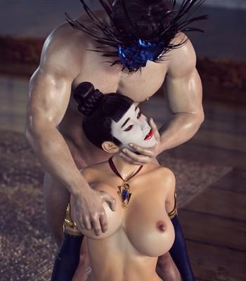 Tales Of Pleasure Desire Dojo 2 comic porn sex 002