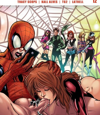 Porn Comics - Spidercest 12 – An Itsy Bitsy Spider Climbs Up