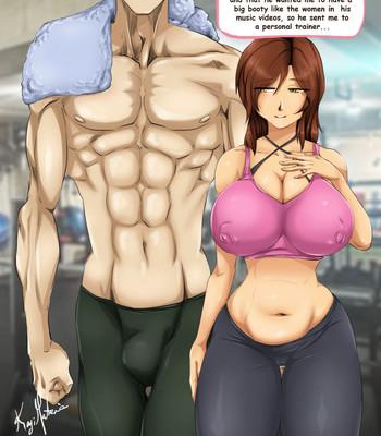 Porn Comics - Personal Trainer