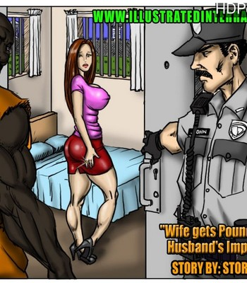 Porn Comics - Wife Gets Pounded While Husband's Impounded Sex Comic