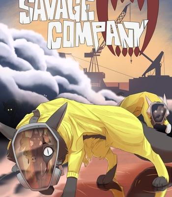 Porn Comics - Savage Company 4