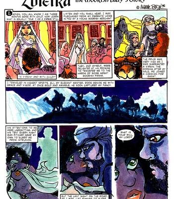 A Night In comic porn sex 038