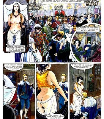 A Night In comic porn sex 050