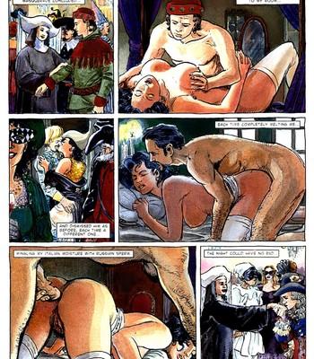 A Night In comic porn sex 053