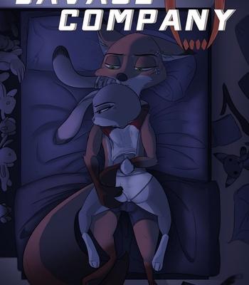 Porn Comics - Savage Company 3