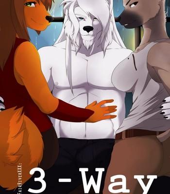 Porn Comics - 3-Way Sex Comic