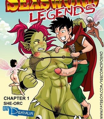 Porn Comics - Sexsword Legends 1 – She-Orc