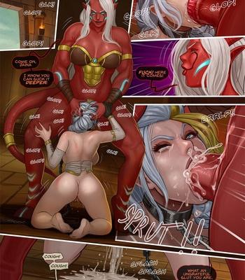 Porn Comics - The Fall Of Jaina Proudmoore