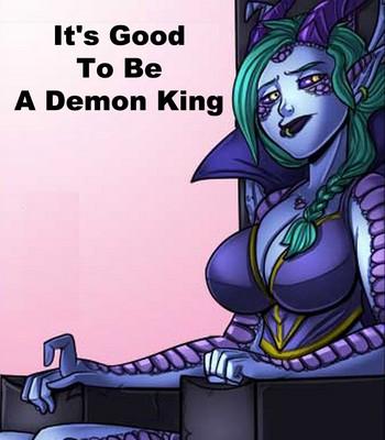 Porn Comics - It's Good To Be A Demon King Sex Comic