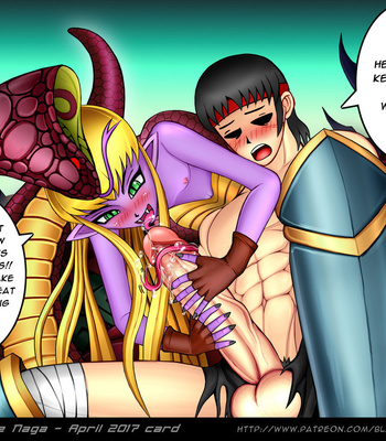 Reptilianne Naga comic porn sex 013