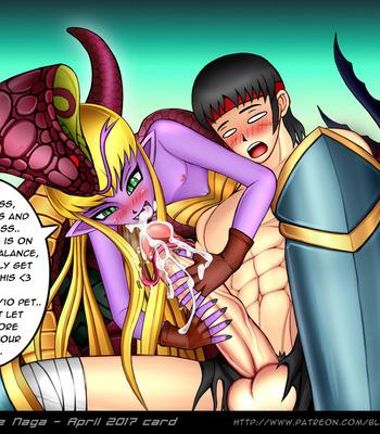 Reptilianne Naga comic porn sex 023