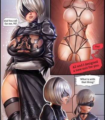 Porn Comics - 2B[SM]