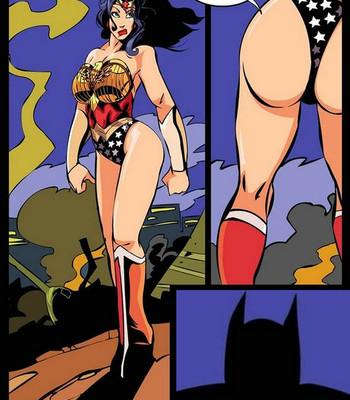 Porn Comics - Wonder Woman Night Patrolling With Her Batmen