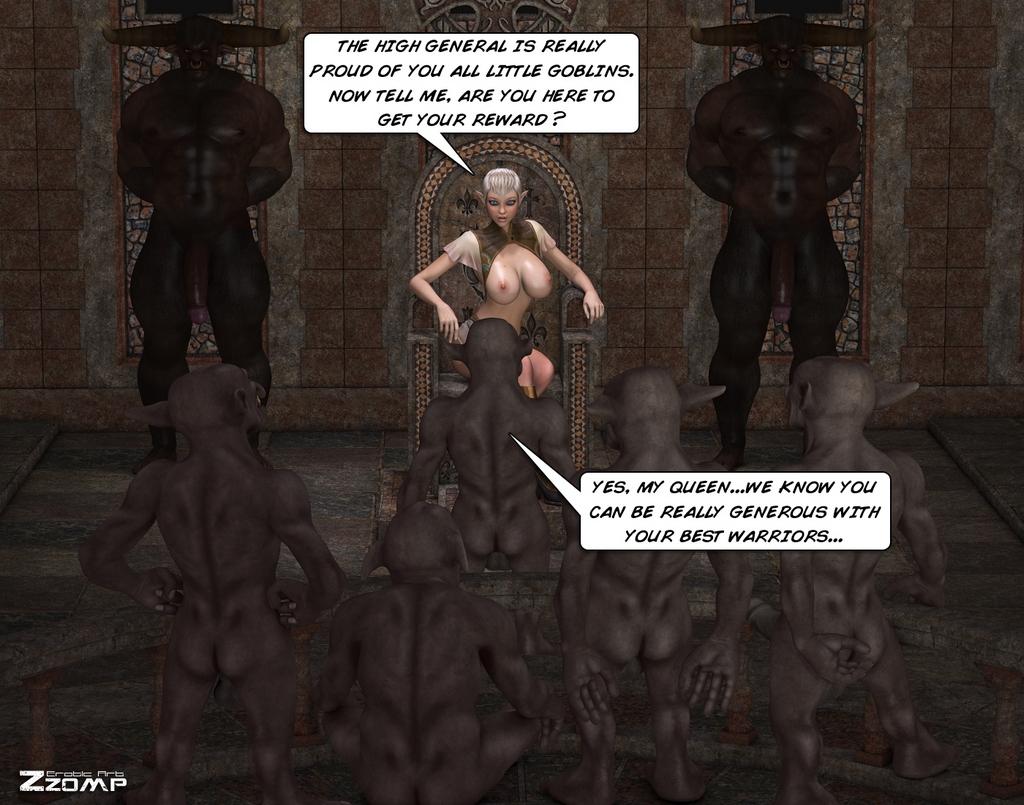 Tihanna Loves Goblins Sex Comic – HD Porn Comics
