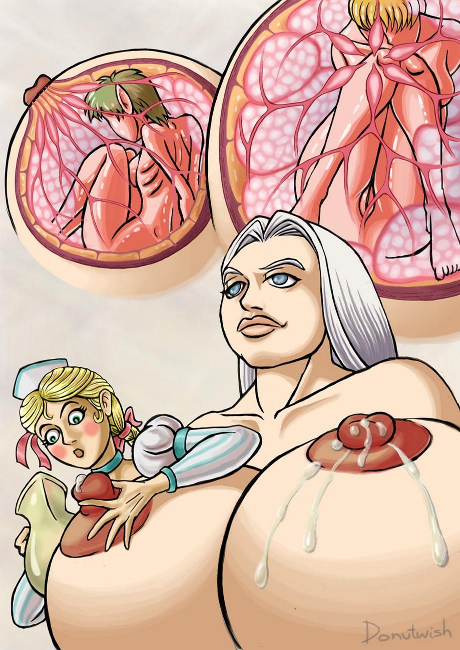 Breast feeding porn comics
